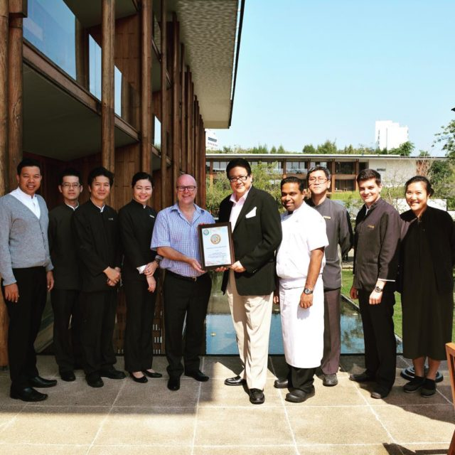 The great team at anantarahotels anantarachiangmai GOLD Certified to thehellip