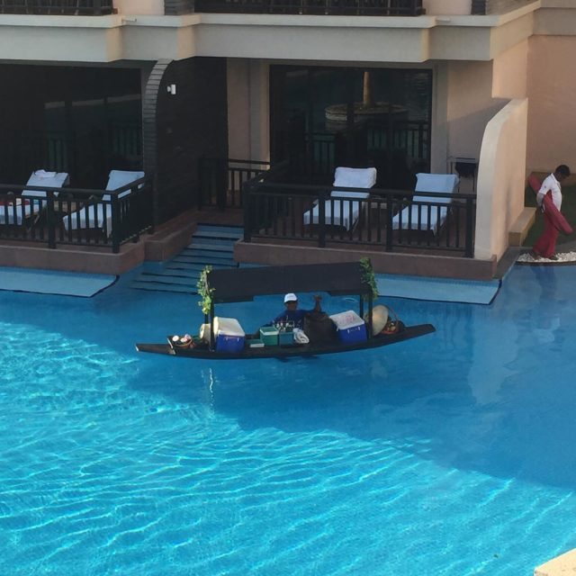How afternoon cocktails are delivered to your villa at anantarahotelshellip