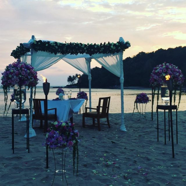 Dining by Design wedding anantarahotels anantaralayanphuket beautiful eveningsky love marriagehellip
