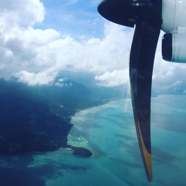 Flying in over Koh Samui anantarahotels lawana island gg2050 travelbeyondhellip