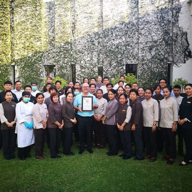 Congratulations to the exceptional team anantarahotels anantarachiangmai on their greengrowth2050hellip