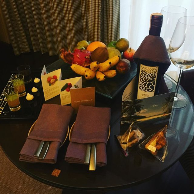 Welcome to anantarahotels anantaralayanphuket gifts wine fruit welcomeback gg2050 travelbeyondhellip