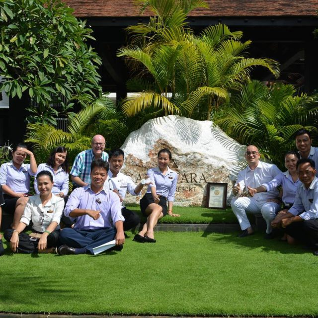 The great team at anantarahotels anantaramuine certified GOLD GG2050 1sthellip