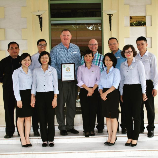 Worlds first gg2050 Certified avanihotels haiphong travelbeyond sustainable travel vietnamhellip