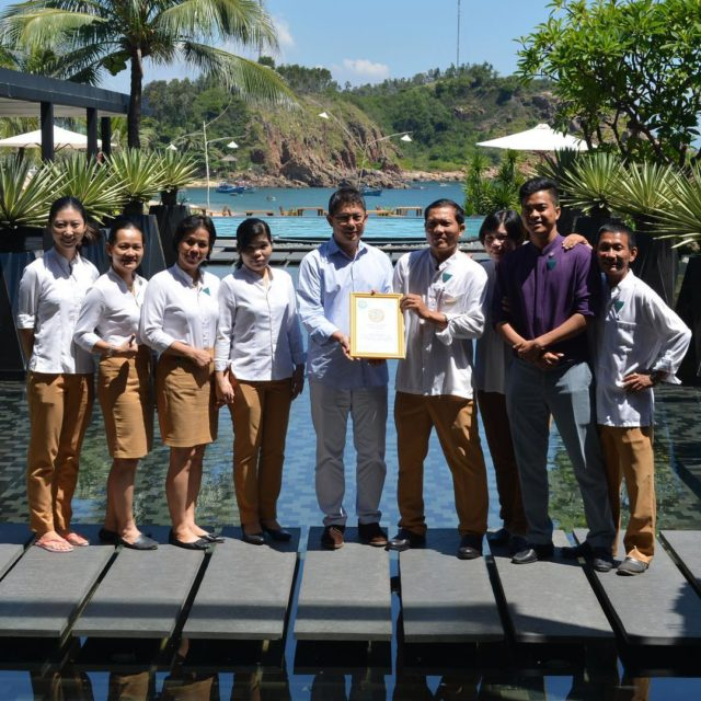 Outstanding team avanihotels avaniquynhon on achieving gg2050 GOLD certification vietnamhellip