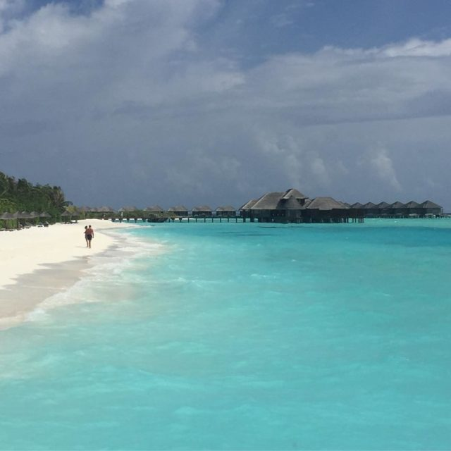 Walk on the beach anantarahotels anantaradhigu maldives resort paradise islandhellip
