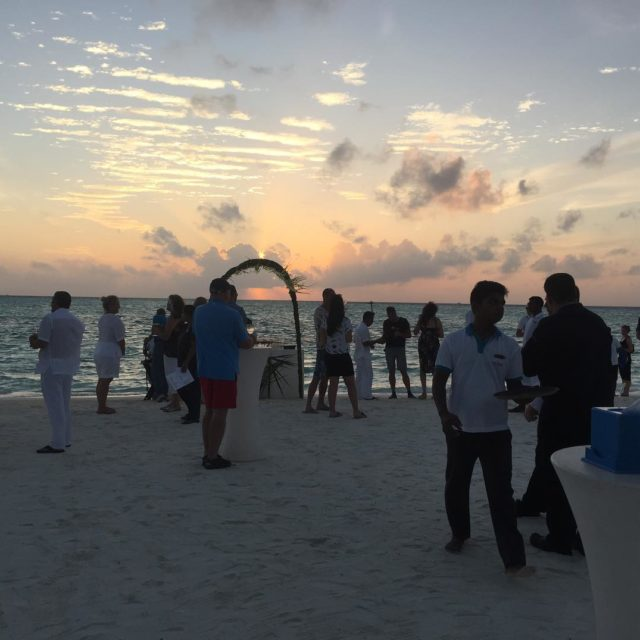 Cocktails at sunset anantarahotels anantaradhigu maldives beach drinks gg2050 travelbeyondhellip