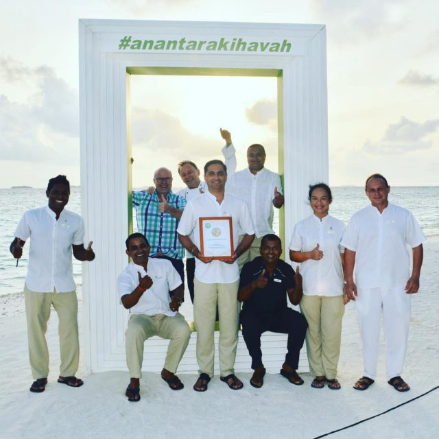 GOLD again for anantarahotels anantarakihavah an amazing effort! maldives sustainabilityhellip
